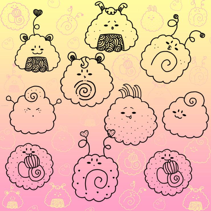 123freebrushes_kawaii_sushi_cartoon_208_photoshop_free_brush