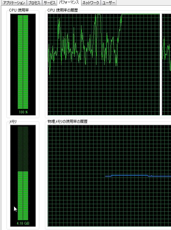 【すぐ解決】CPU使用率がずっと100%問題